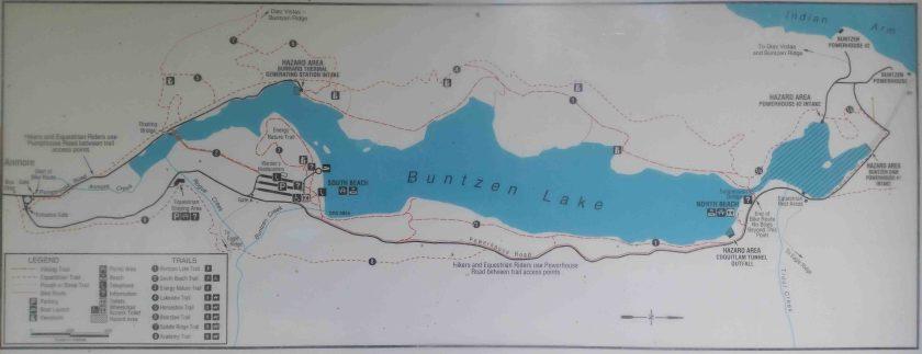 Buntzen-Map